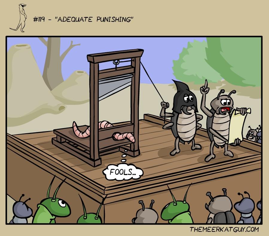 Adequate punishing