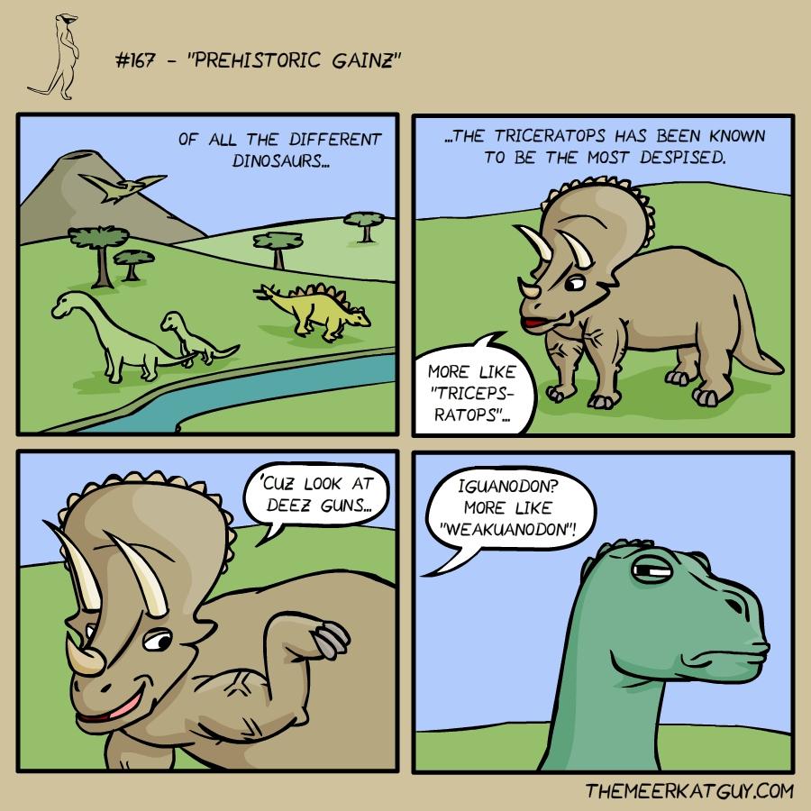 Prehistoric Gainz
