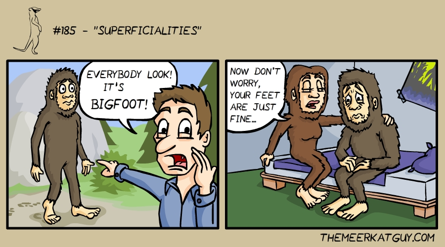 Superficialities