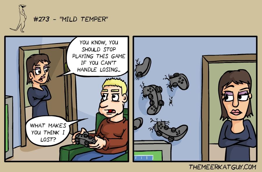 Mild temper